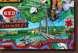 Ohio Pop-Out Mural